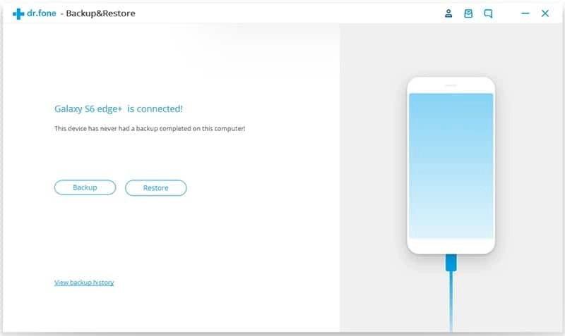 Android Dados Backup & Restauração Etapa 1