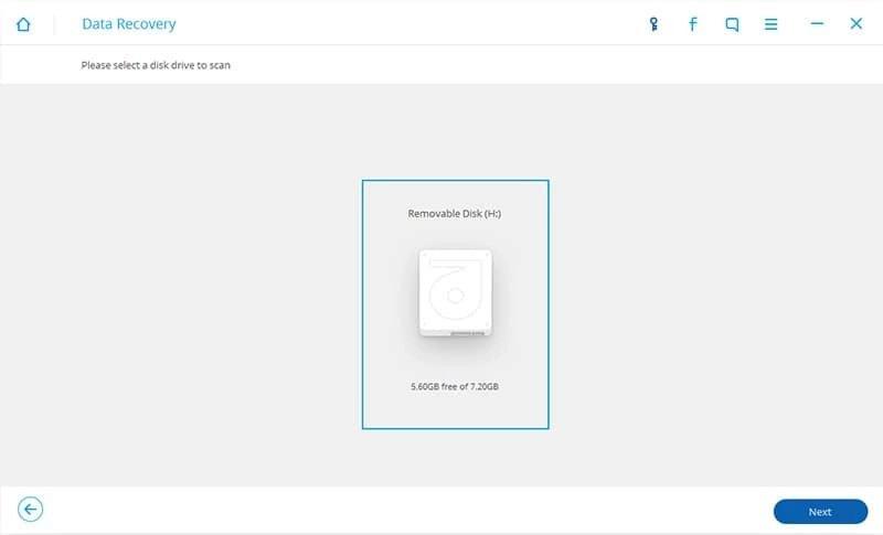 Android Dados Recuperação Passo 9