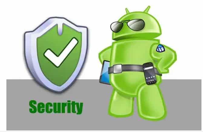 Aplicativo de segurança móvel para Android