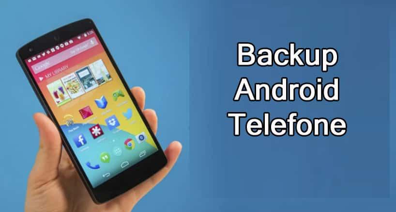 Backup Android Telefone