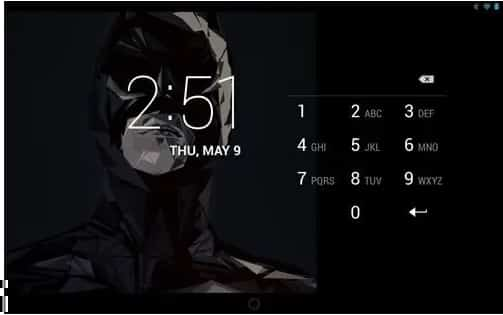 Bloquear Android tela do