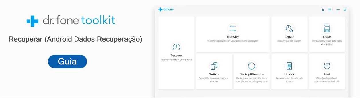 Guia do usuário de recuperação de dados do Android