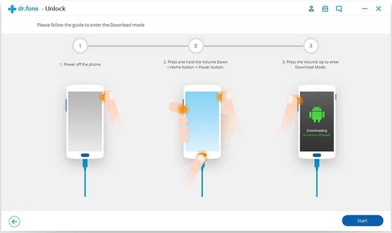 Android Desbloquear Passo 4